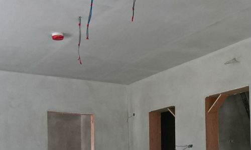 Internal Plastering - Skimming a Ceiling