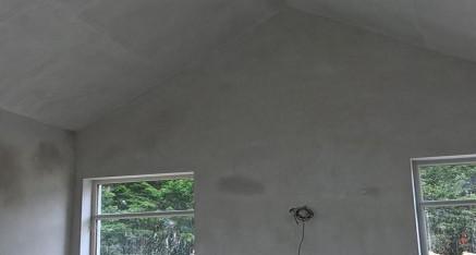 Skimmed vaulted ceiling
