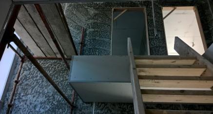 Slabbing a stairwell